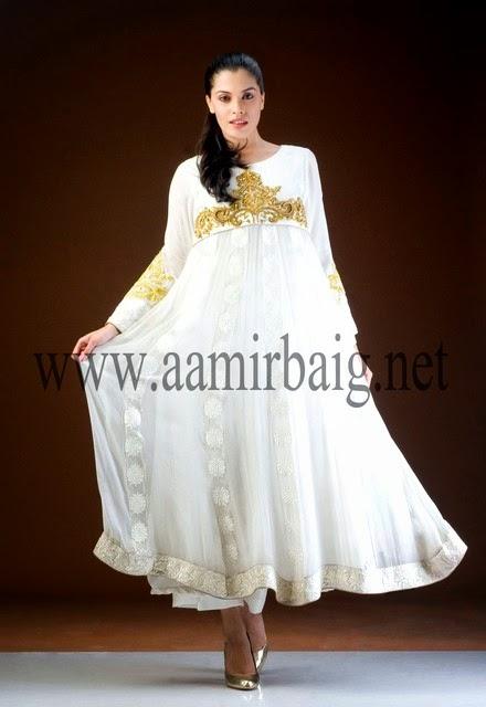 Aamir Baig Semi Formal Dress