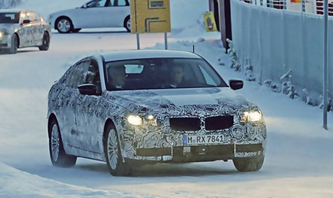 2017 BMW 5 Series GT Spied Testing