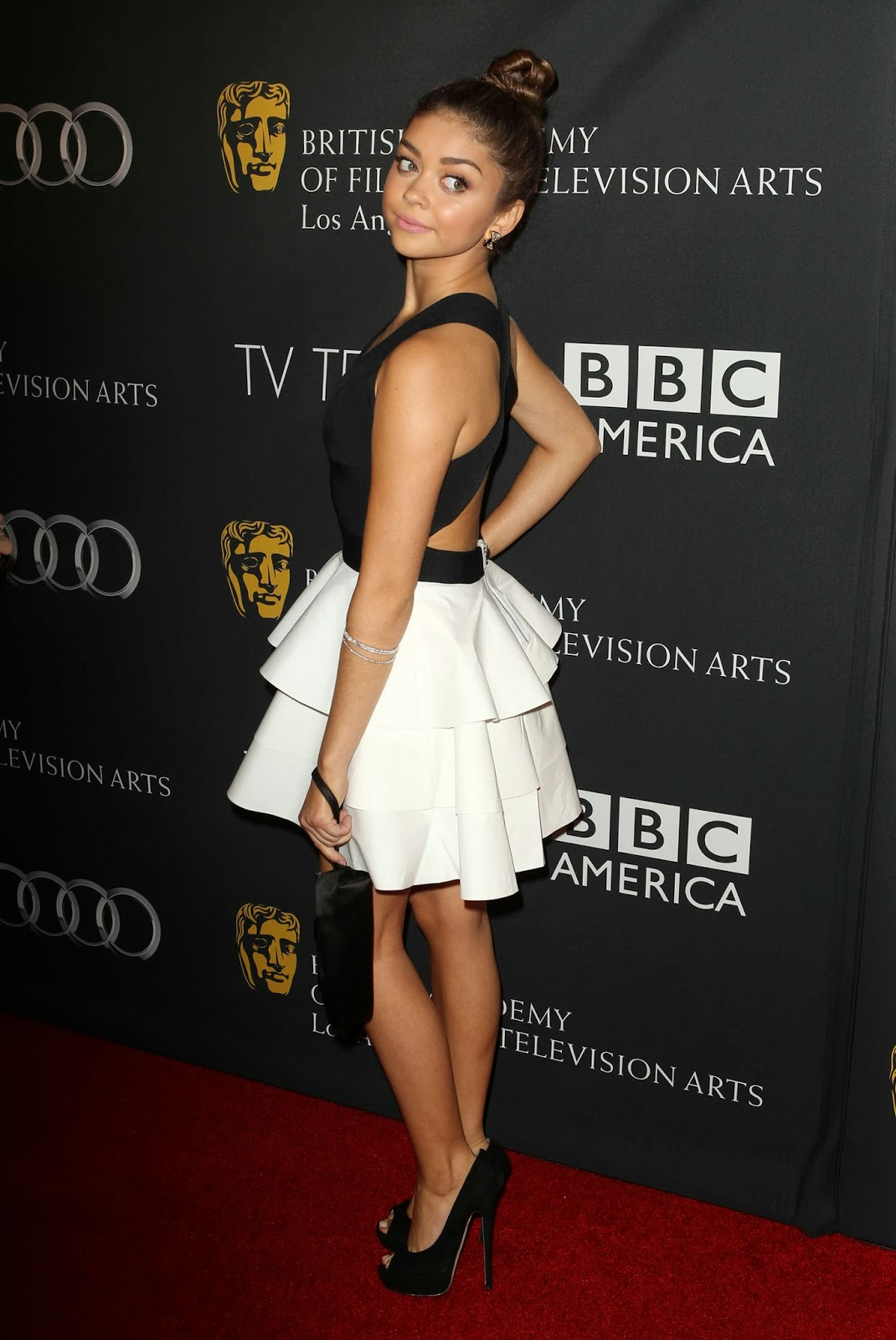 Sarah Hyland In A Robert Rodriguez Creation At The 2013