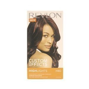 Hair Color Revlon Revlon Revlon Custom Effects Hair Highlights Currant  Dark