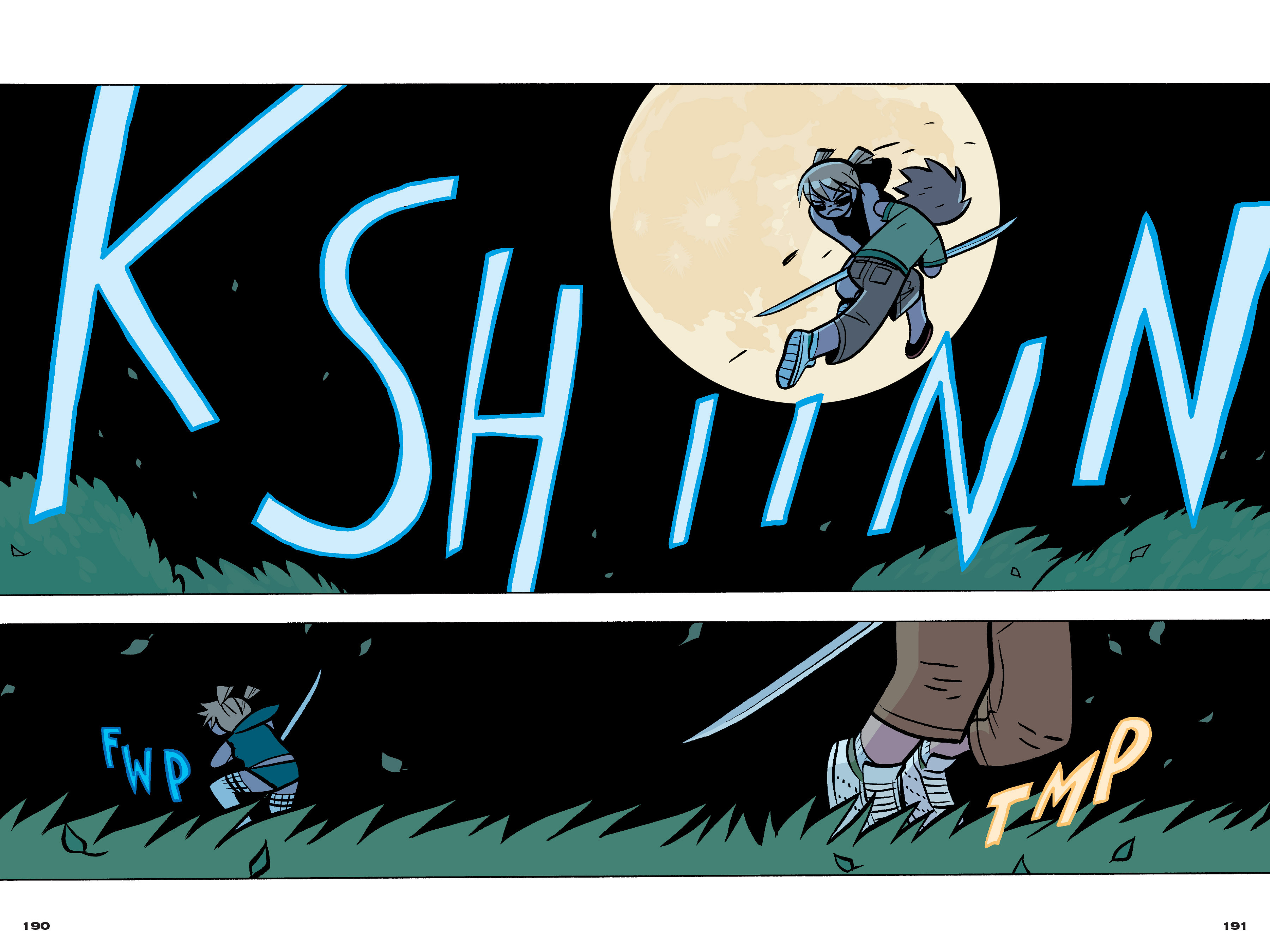 Read online Scott Pilgrim comic -  Issue #4 - 187