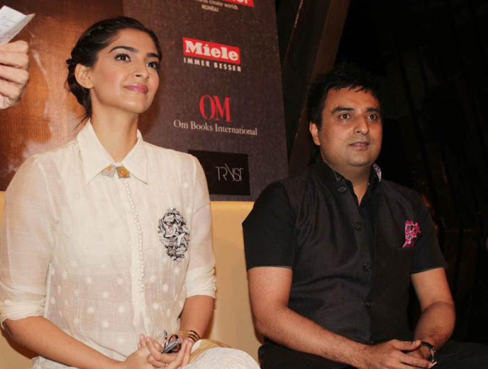 sonam at khalid mohammed book launch actress pics