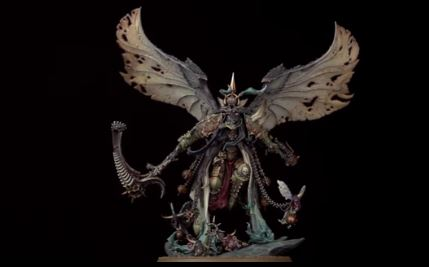 Full 3d Official Reveal of Mortarion!