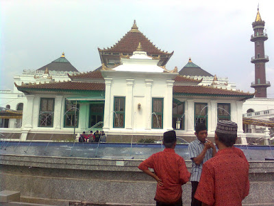 photo masjid agung palembang sumsel