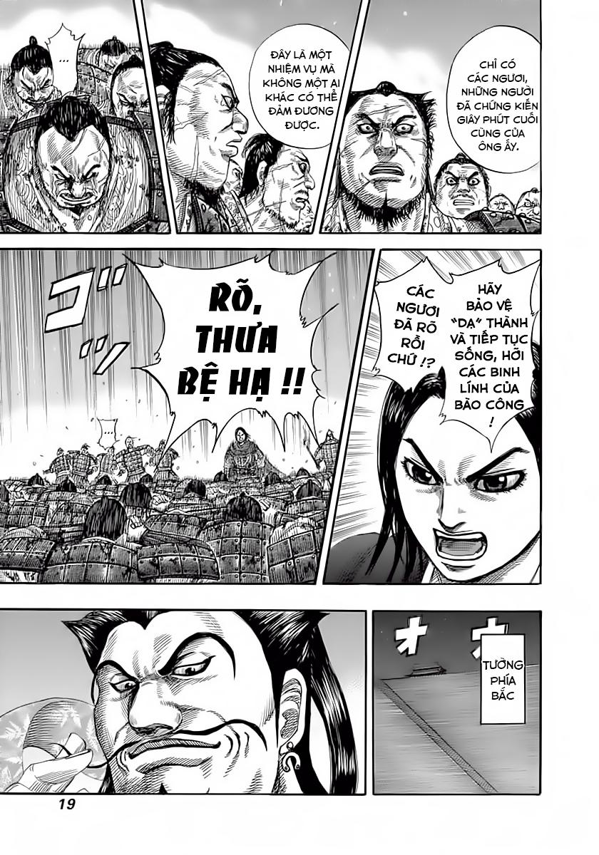 Kingdom - Vương Giả Thiên Hạ Chapter 339 page 19 - IZTruyenTranh.com
