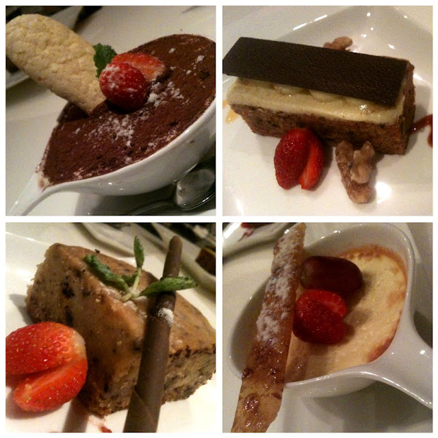 the mix dessert