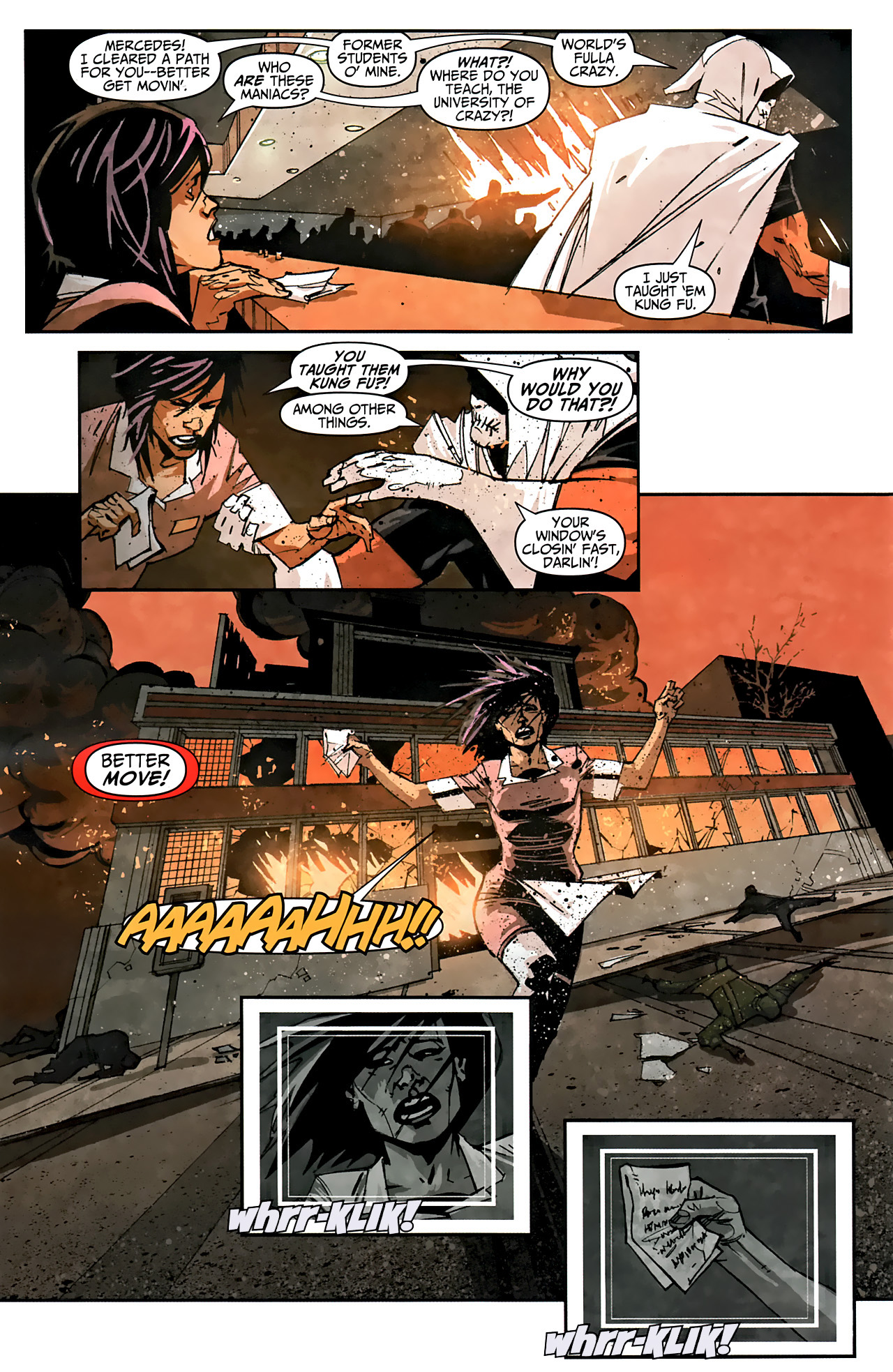 Read online Taskmaster (2010) comic -  Issue #1 - 15