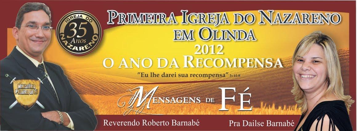 Ministerio Palavra de Fe - Reverendo Roberto Barnabé