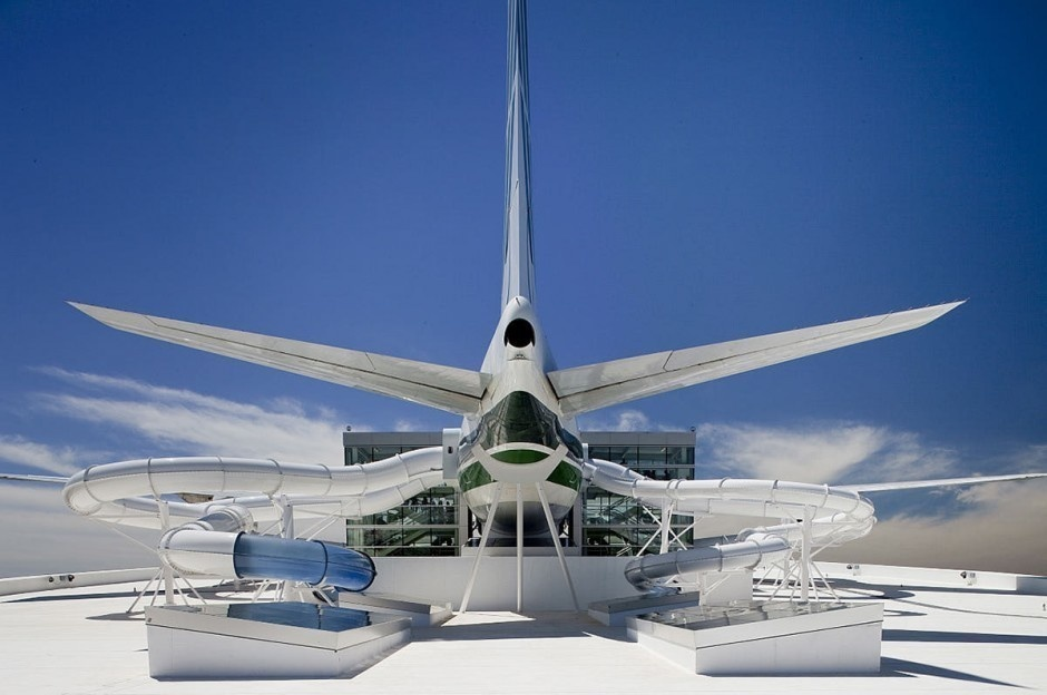 #3. Boeing 747, Oregon - The World's 25 Scariest Waterslides… I'm Surprised #6 Is Even Legal.
