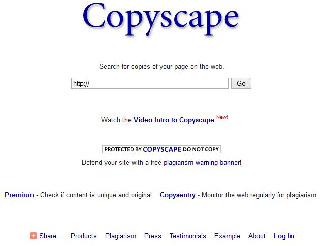 Cara Otomatis Mengetahui Artikel Copy Paste