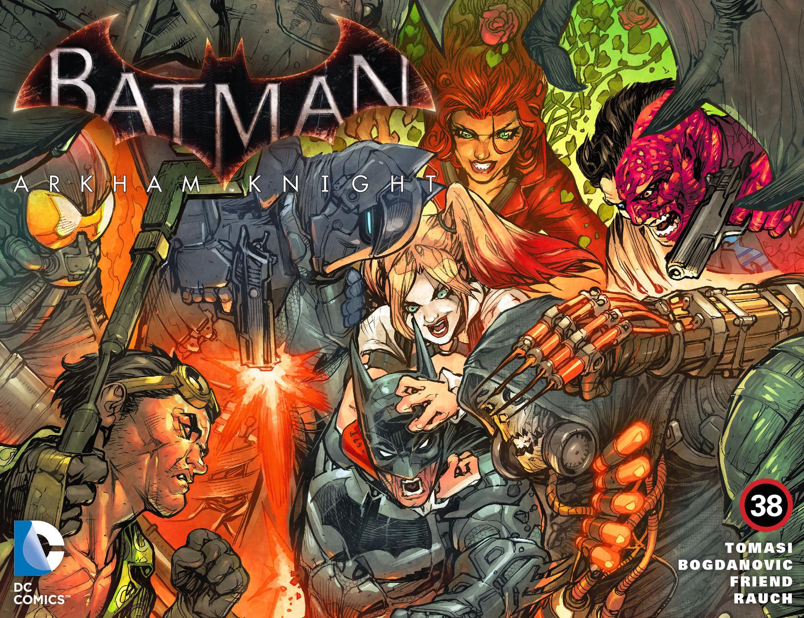 Batman: Arkham Knight [I] Issue #38 #40 - English 1