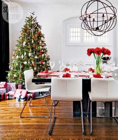 Ideas para una Decoración Moderna en Navidad by artesydisenos.blogspot.com
