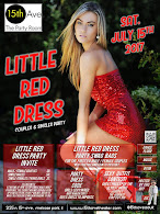 Little Red Dress Party at 15th Ave. Adult Theater in Chicago Saturday 7/15/17 at 8pm!
