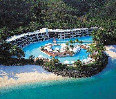 Hotel en las Islas Hayman, Australia. (Great Barrier Reef)