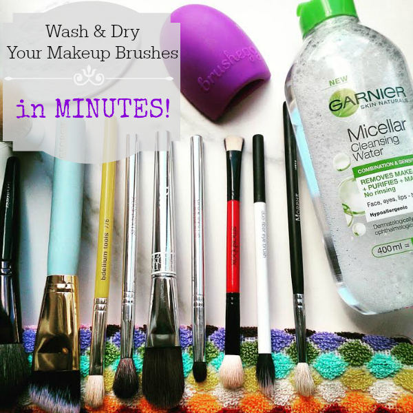Save Time, Makeup Brushes, Trick, Tip