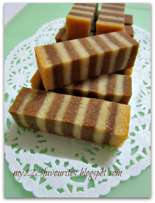 Steamed Coffee Layer Cake Recipe