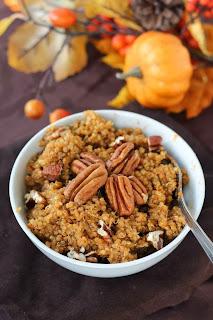 Pumpkin Spice Breakfast Quinoa Recipe