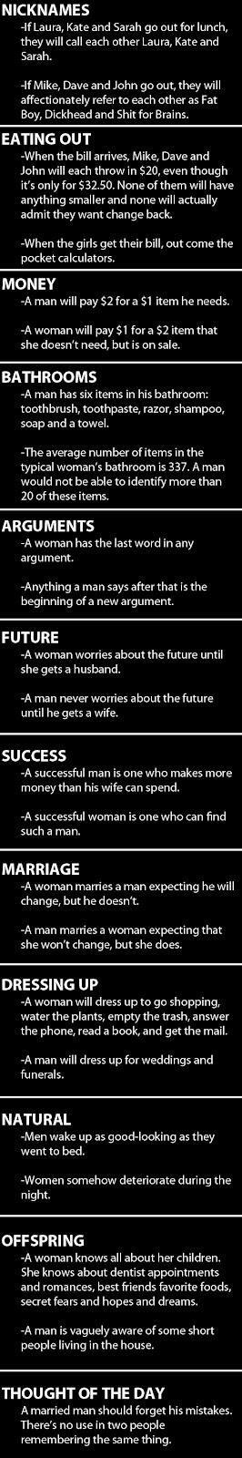 lelaki vs perempuan