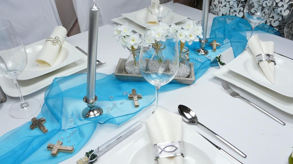 Dekorationen Und Geschenke Organza Als Tischdekoration