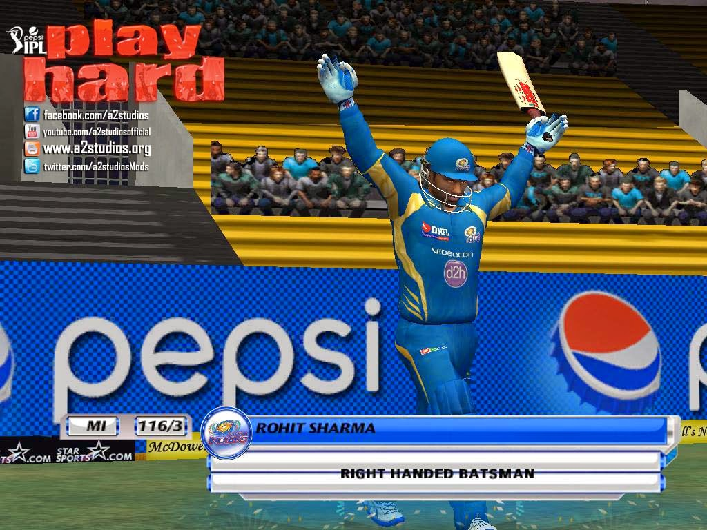 play free online cricket games at y8 .com