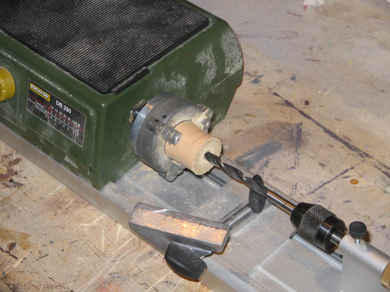 Il passato ritorna come usare il tornio realizzare for Costruire un tornio per legno