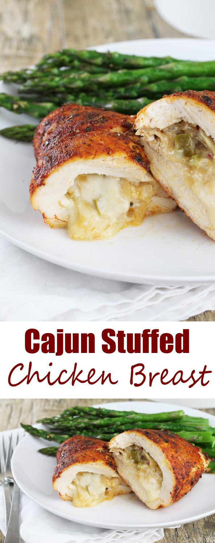 Cajun Stuffed Chicken Breast