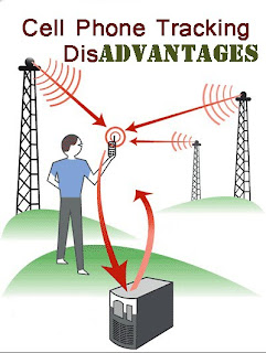 Cell phone tracking disadvantages