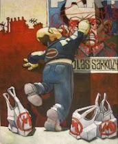 Graffiti anti Sarko