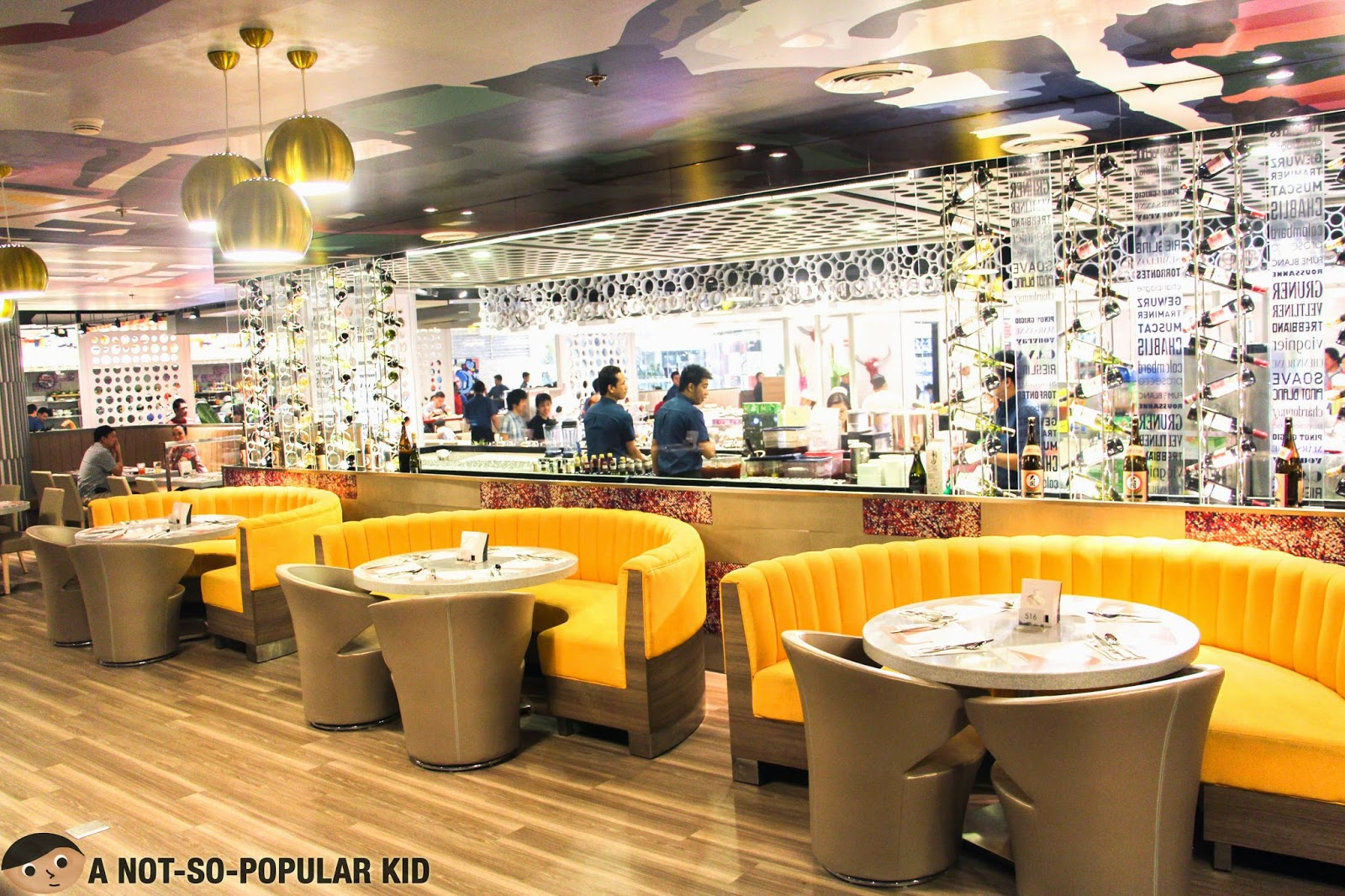SM Megamall Branch of Vikings Buffet