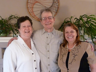 Rene with Carol and Marjorie - Photo by Patricia Stimac, Seattle Wedding Officiant