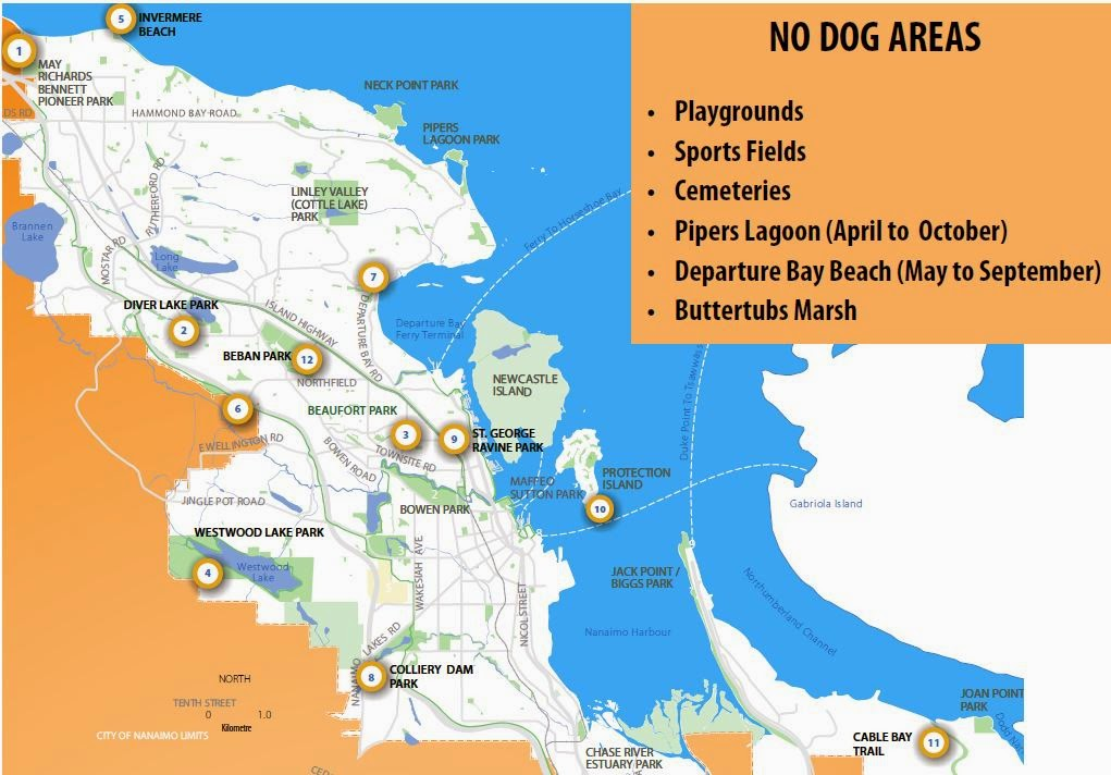 Off Leash Dog Parks in Nanaimo