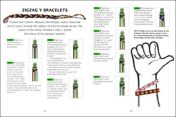 Bracelet Tool Galleries: Friendship Bracelet Patterns