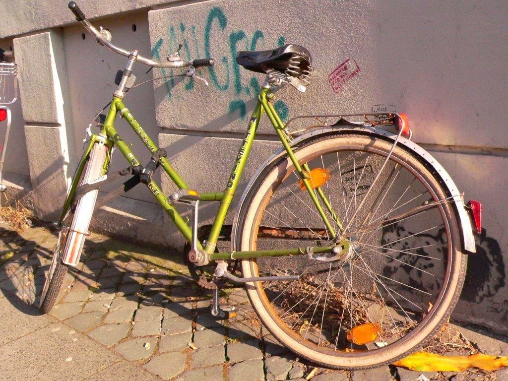Fahrrad Köln Blogparade Rad radeln fietsen  streetart