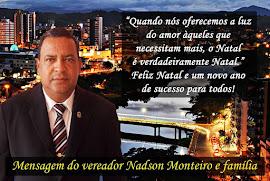 FELIZ NATAL, NADSON MONTEIRO