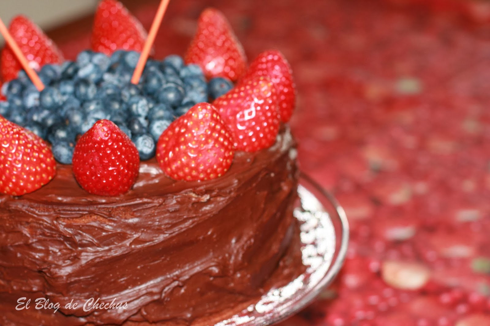 tartas, Tarta de bizcocho de yogurt, el blog de chechus, Chechus Cupcakes