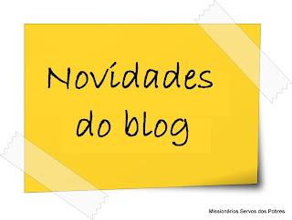 Imagem - novidades no blog do SERVO