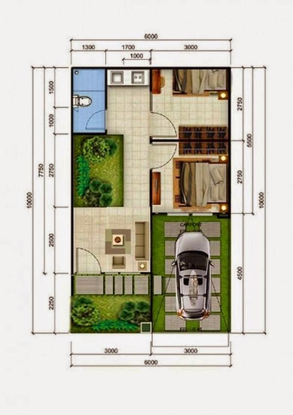 desain rumah minimalis type 36 5