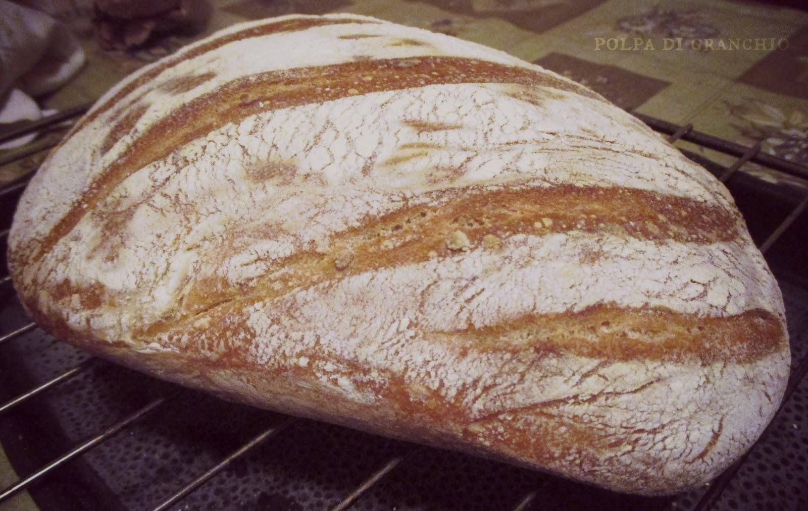 Impastare il pane con la planetaria