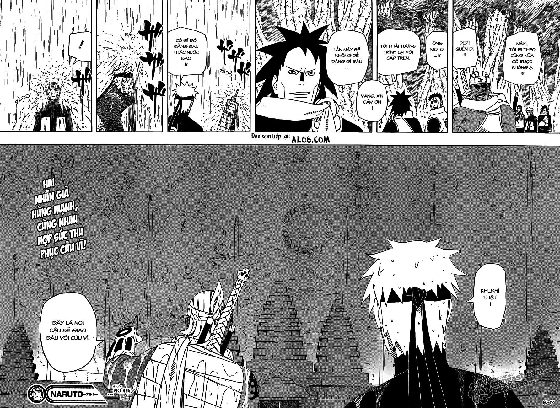 Naruto chap 495 Trang 16 - Mangak.info