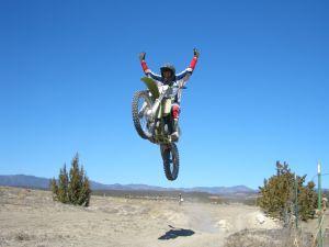 Finalista carrera motos