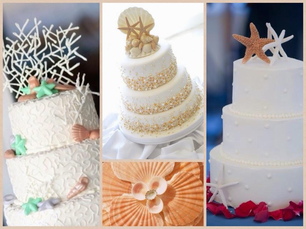 Matrimonio tema mare qualche idea for Decorazioni torte tema mare