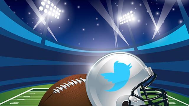 A liga nacional de futebol americano NFL assina contrato com o Twitter