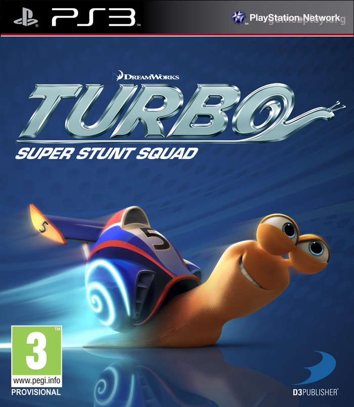 turbo super stunt squad the game of the movie ps3 x360 wiiu wii 3ds ds. Black Bedroom Furniture Sets. Home Design Ideas