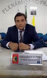 Vereador Esmerahdson de Pinho