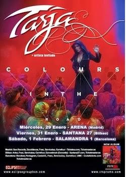 Conciertos de Tarja Turunen en Madrid, Barcelona y Bilbao