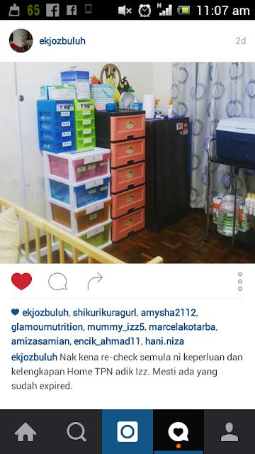 Instagram ekjozbuluh @ papa Izz