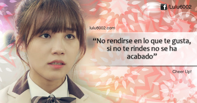 sassy go go cheer up frases