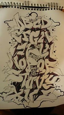Professional_Graffiti_Art_Alphabet_A-Z