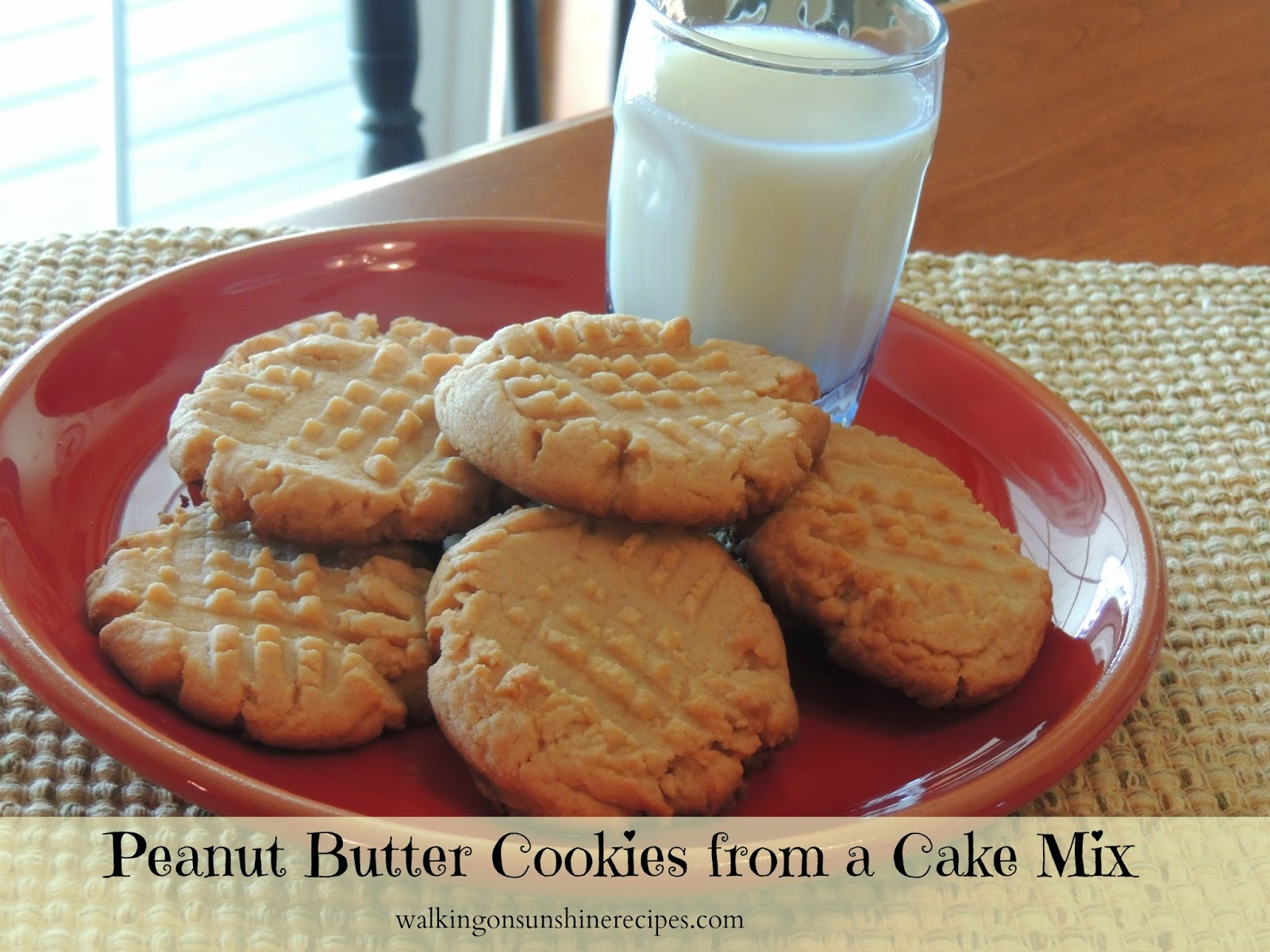 Recipe For Cake Cookies Using Cake Mix
