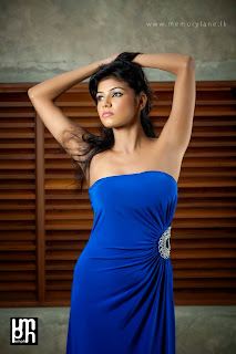 Tanasha Hatharasingha blue